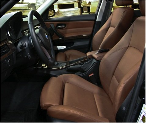 Kit peinture spallina siège de restauration et panneau en cuir bleu BMW Dakota Terra 35 ml