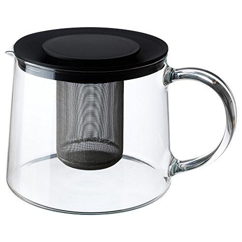 IKEA(イケア) RIKLIG 30163217 ティーポット, ガラス