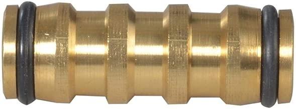 Faithfull HOSEJOIN 1//2-inch Brass Two Way Hose Coupling