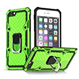 iPhone 6 Case | iPhone 6s Case | Kickstand | [ Military Grade ] 15ft. SGS Anti Drop Tested Protective Case | Compatible for Apple iPhone 6/6S-Green (iPhone 6/6s)