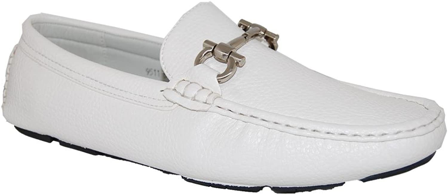 shoes Artists White Party Slip On Men's Loafer - Men