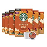 Starbucks K Cup Coffee Pods — Light Roast Coffee — Pumpkin Spice — Fall Limited Edition — 6 boxes (60 pods total)
