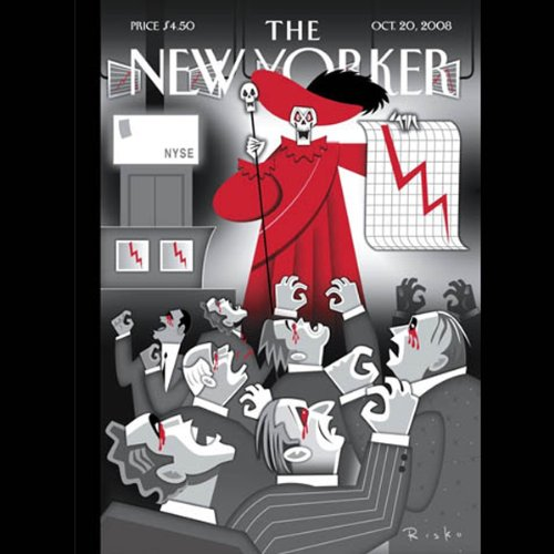 The New Yorker, October 20th, 2008 (Ryan Lizza, Malcolm Gladwell, John Updike) cover art