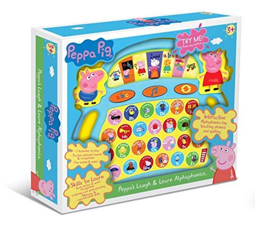 Peppa Pig PP03 Laugh and Learn Alpha-Phonics - Juguete