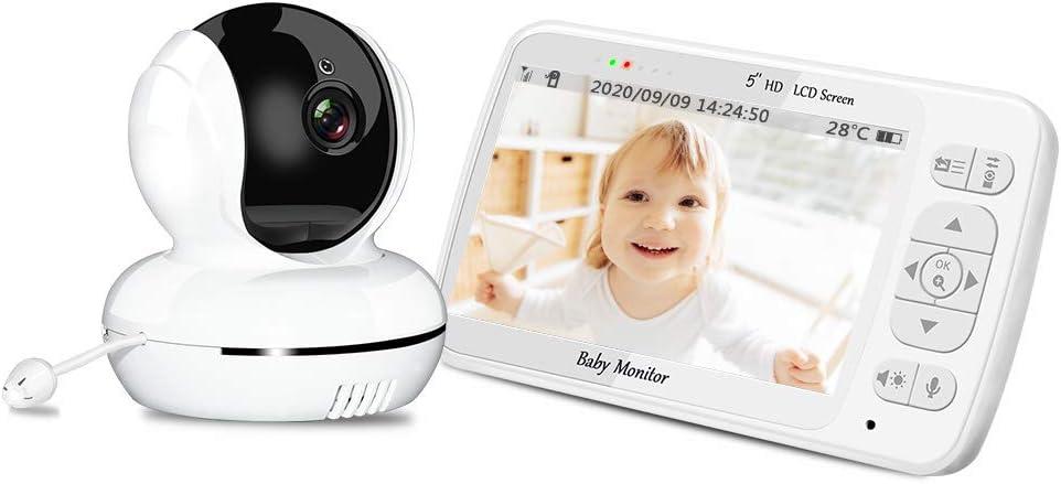 Baby Monitor, Peiloh 720P 5