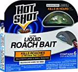 Hot Shot HG-95789 Roach Killer, 6-Count, Brown/A