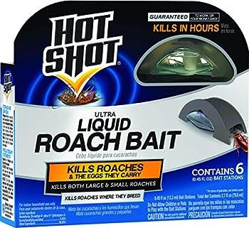 Hot Shot HG-95789 Roach Killer 6-Count Brown/A