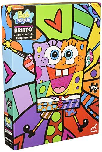 Novelty Corp Rompecabezas Coleccionable 500 Piezas Bob Esponja/Romero Britto