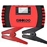 GOOLOO SuperSafe Car Jump Starter, 800A Peak 18000mAh 12V Auto Battery Booster (Up to 7.0L Gas or 5.5L Diesel...