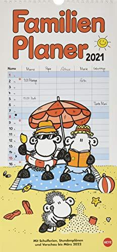 sheepworld Familienplaner Kalender 2021