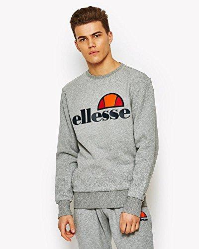 ellesse Succiso Sweatshirt/Pullover, für Herren L Grau (ath Grey)