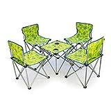 LXJ Tour Auto-Conduite/Pique-Nique/randonnée/Plage/Barbecue/Ensemble Table et chaises d'extérieur/Table et Chaise Pliantes Portable / (Color : B, Size : M)