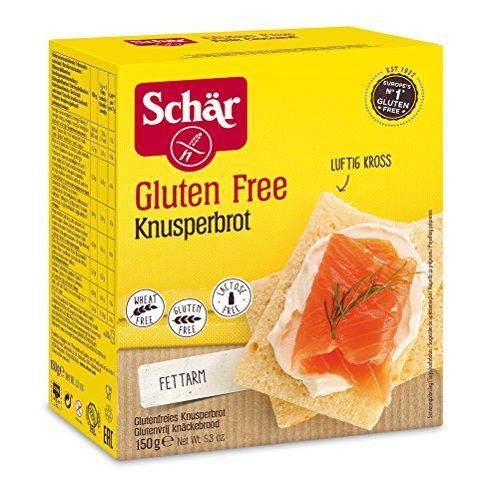 Schär Knusperbrot glutenfrei 150g, 6er Pack