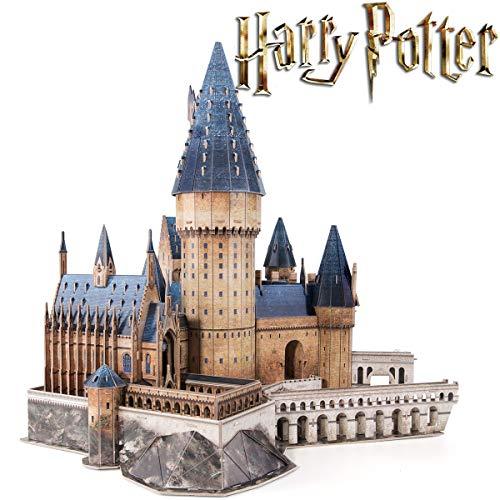 CubicFun 3D Puzzle Harry Potter - Die große Halle von Hogwarts Für Harry Potter Sammler und Fans, 187 Stück