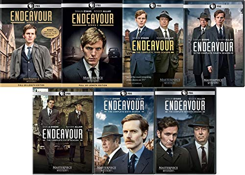 Masterpiece Mystery: Endeavour Series 1-7