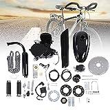 【𝐏𝐫𝐨𝐦𝐨𝐜𝐢ó𝐧 𝐝𝐞 𝐒𝐞𝐦𝐚𝐧𝐚 𝐒𝐚𝐧𝐭𝐚】Kit de Motor de Bicicleta 80CC, Conjunto de Kit de Motor de Motor de Ciclo de 2 Tiempos, Kit de Bricolaje de Motor de Gasolina con Ahorro de Combustible