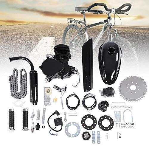 Kit de Motor de Bicicleta 80CC, Conjunto de Kit de Motor de Motor de Ciclo de 2 Tiempos, Kit de Bricolaje de Motor de Gasolina con Ahorro de Combustible con Herramientas