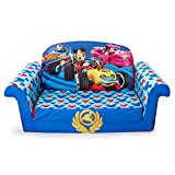 Marshmallow Furniture - Children's 2 in 1 Flip Open Foam Sofa, Disney Mickey Mouse...