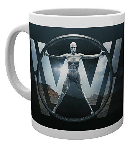 GB eye, Westworld, Logo, Taza
