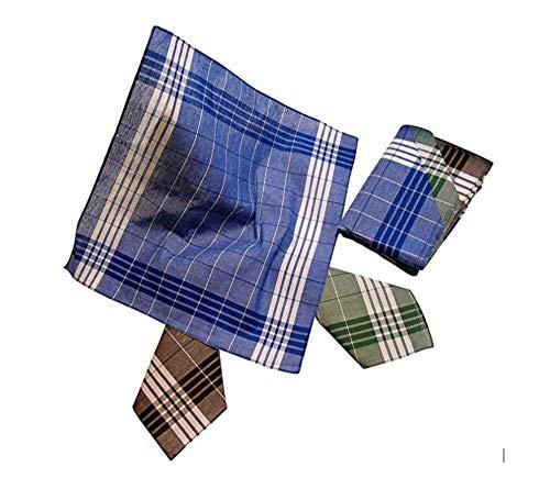Karl Teichmann® I Arbeits-Taschentücher (Arabias) I Hochwertige Stoff-Taschentücher I 12 Stück im Polybeutel