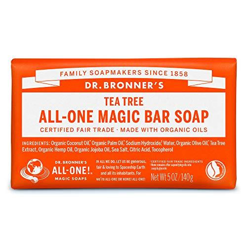 ネイチャーズウェイ ドクターブロナー マジックソープバー magic soap 石鹸 ティートゥリー 140g ネイチャーズウェイ