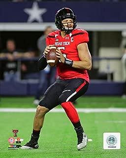 NCAA Patrick Mahomes Texas Tech Red Raiders Action Photo 8x10