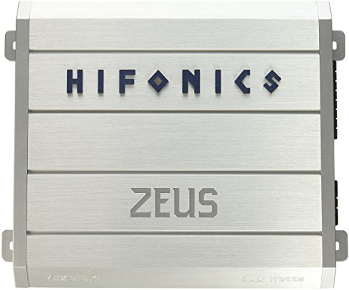 Hifonics ZRX616.4 Zeus 4-Channel Class-A/B Car Amplifier, 600-Watt