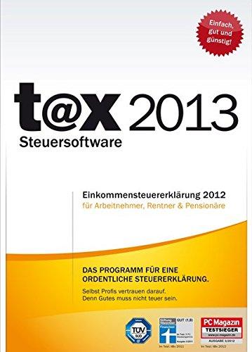 Preisvergleich Produktbild t@x 2013 (für Steuerjahr 2012)