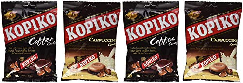 Kopiko Candy Variety Pack (Coffee and Cappuccino) Pack of 2