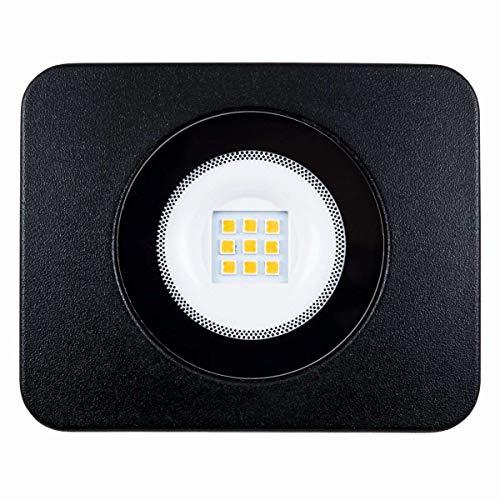 Heitronic LED Flutlichtstrahler BOLTON schwarz 10W inkl