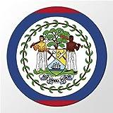 Kühlschrank Magnet Belize Flagge Zentralamerika Flag Magnettafel Whiteboard