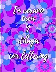 En verano crea y dibuja con lettering