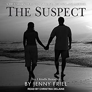 The Suspect     A True Story of Love, Marriage, Betrayal and Murder              By:                                                                                                                                 Jenny Friel                               Narrated by:                                                                                                                                 Christina Delaine                      Length: 5 hrs and 33 mins     27 ratings     Overall 4.0