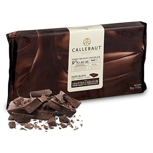 Callebaut 70,5% Blocco di Cioccolato Fondente (confezione) 5kg