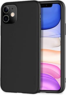 iPhone 11 Case X-level Slim Fit Soft TPU Matte Surface Ultra Thin Phone Case Lightweight Full Protective Back Cover for Wo...
