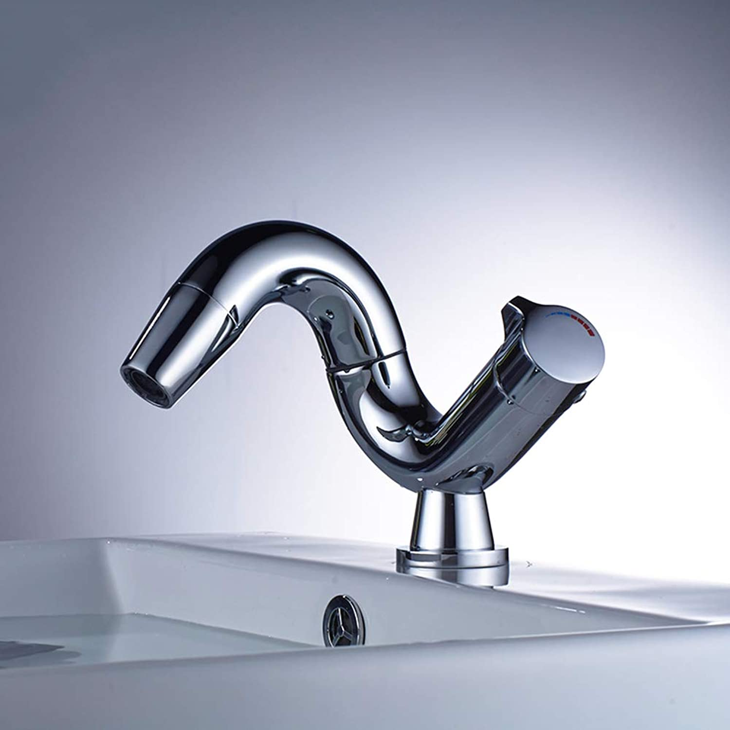 redary tap, Chrome Finishing 360 Degree redate Brass Single Lever Water Tap, Bathroom Sink Mixer Basin Faucet