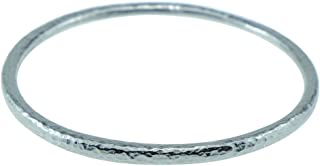 10th for Him & Her - Pure Tin Beaten Bangle Inscribed with 10 Years …