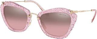 Miu Miu MU10NS Cat Eye Sunglasses For Women+FREE Complimentary Eyewear Care Kit
