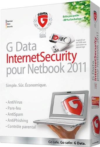 G Data Internet Security pour Netbook 2011 (1 poste, 1an)