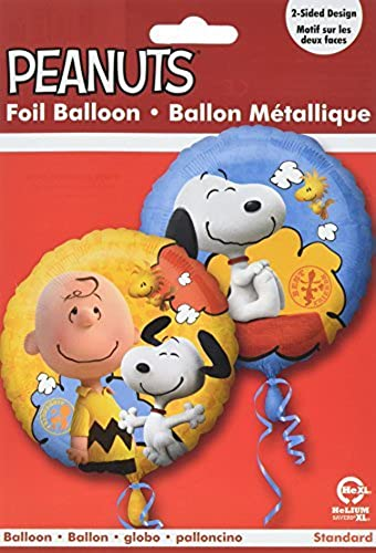 Mayflower BB77027 18 in. Peanuts Foil Balloon by Mayflower Products