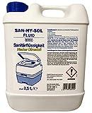 Explorer Sanitärflüssigkeit San-HY-Sol Fluid, 2.5 Liter, 8000
