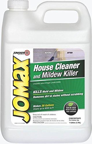 New Jomax 60101 Outdoor Gallon Mildew Remover House Siding Cleaner Concentrate