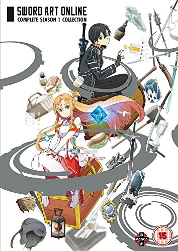 Sword Art Online Complete Season 1 Collection (Episodes 1-25) [DVD] [UK Import]