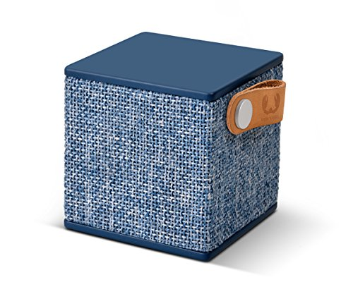 Fresh 'n Rebel ROCKBOX CUBE Fabriq Edition Indigo | Kabelloser Bluetooth Lautsprecher