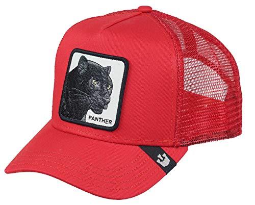 Goorin Bros. Gorra Trucker Black PantherBros. de Beisbol Baseball (Talla única - Rojo)