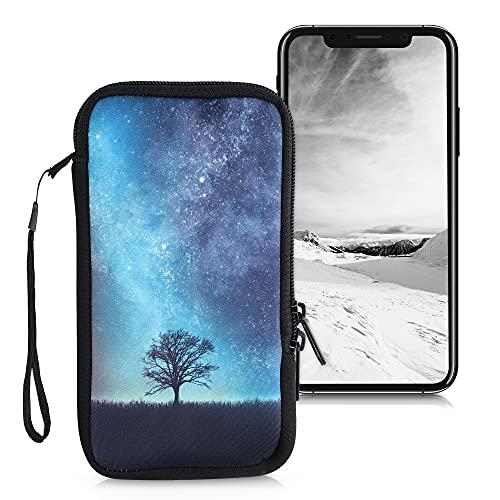 kwmobile Handytasche für Smartphones XL - 6,7/6,8