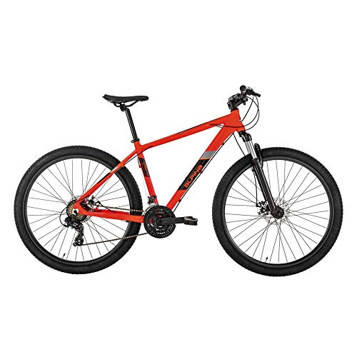 Alpina Bike Monster, Biciletta Mountain Bike Uomo, Rosso, 29