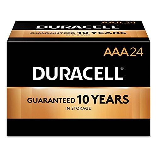 Duracell MN2400BKD CopperTop Alkaline Batteries, AAA, 144/CT