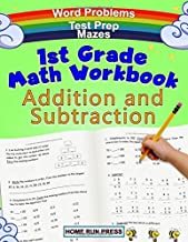 1st Grade Math Workbook Addition and Subtraction: Grade 1 Workbooks, Math Books for 1st Graders, Ages 4-8
