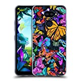 Official Suzan Lind Flutter Night Butterflies Soft Gel Case
